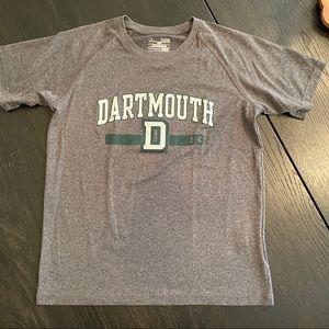Boys Under Armour Dartmouth tshirt Large EUC
